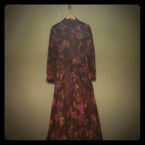 Long vintage dress